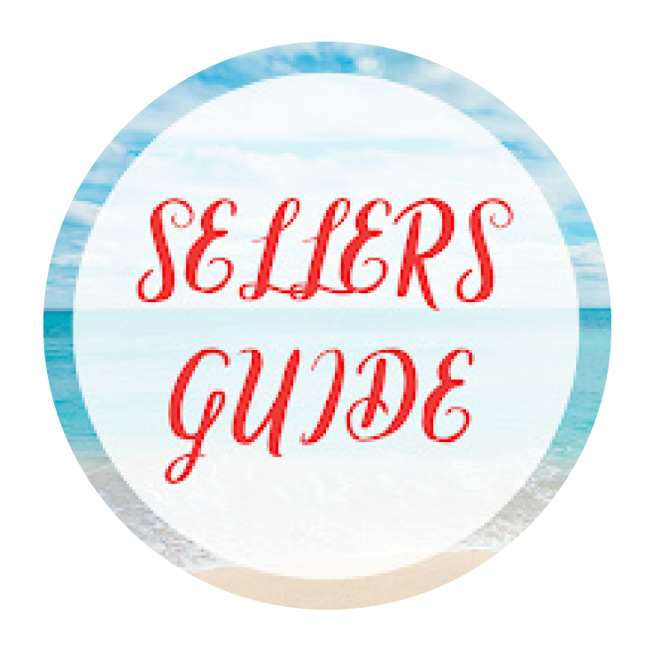 Sellers Guide Red Letters Icon